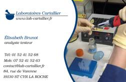Cartes de visite laboratoire 1193 - 107