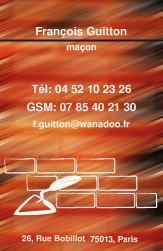 Cartes De Visite Macon 738