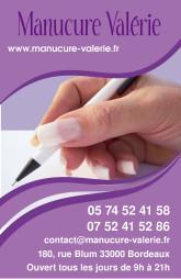 Cartes De Visite Manucure 869