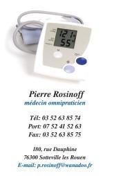 Cartes de visite médecin 1398 - 12