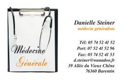 Cartes de visite médecin 1399 - 42