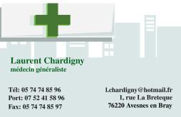 Cartes de visite médecin 1402 - 18