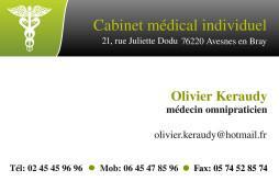 Cartes De Visite Mdecin 1406