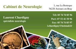 Cartes de visite médecin 1332 - 11