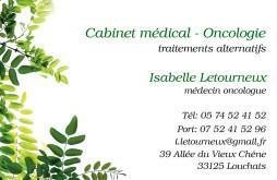 Cartes de visite médecin 1386 - 40