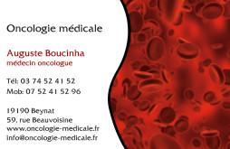Cartes de visite médecin 1390 - 20
