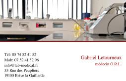 Cartes de visite médecin 1216 - 8