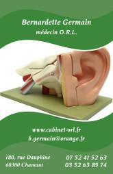 Cartes de visite médecin 1217 - 15