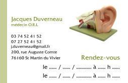 Cartes De Visite Mdecin 1226