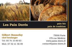 Cartes de visite boulangerie patisserie 1293 - 27