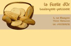 Cartes de visite boulangerie patisserie 220 - 20
