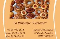 Cartes De Visite Boulangerie Patisserie 1267
