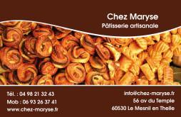 Cartes De Visite Boulangerie Patisserie 1270
