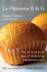 Cartes de visite boulangerie patisserie 1283 - 43