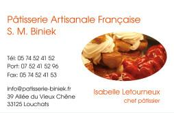 Cartes de visite boulangerie patisserie 1285 - 38