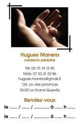 Cartes de visite médecin 1362 - 14