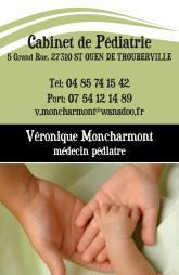 Cartes de visite médecin 1368 - 50