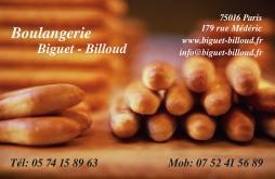 Cartes de visite boulangerie patisserie 1272 - 17