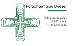 Cartes de visite pharmacie 194 - 30
