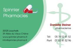 Cartes de visite pharmacie 1168 - 331