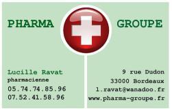 Cartes de visite pharmacie 1169 - 24