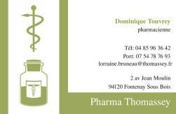 Cartes de visite pharmacie 1172 - 40