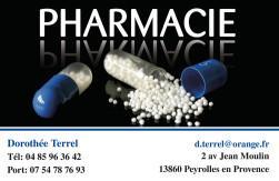 Cartes de visite pharmacie 1173 - 141