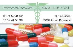 Cartes de visite pharmacie 1174 - 38