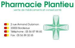 Cartes de visite pharmacie 562 - 42