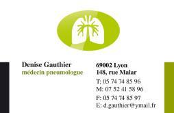 Cartes de visite médecin 1422 - 56