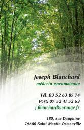 Cartes de visite médecin 1423 - 33