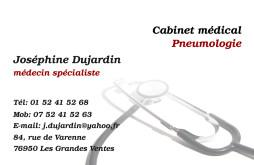 Cartes de visite médecin 1425 - 48