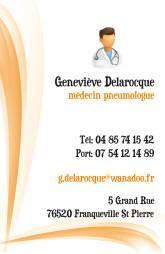 Cartes de visite médecin 1426 - 15