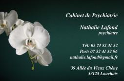 Cartes de visite psychologue 1461 - 83