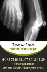 Cartes de visite médecin 1339 - 18