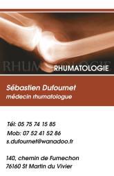 Cartes de visite médecin 1342 - 10