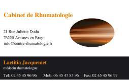Cartes de visite médecin 1345 - 14