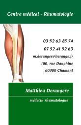 Cartes de visite médecin 1346 - 13