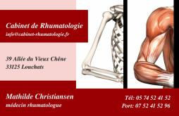 Cartes de visite médecin 1347 - 56