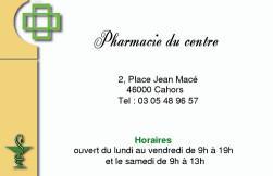 Cartes de visite pharmacie 22 - 109