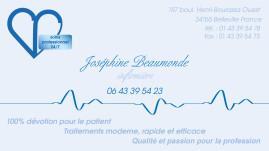 Cartes de visite infirmier 1535 - 139