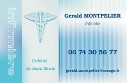 Cartes de visite infirmier 1537 - 198