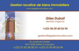 Cartes de visite agence immobilière 1513 - 30