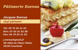 Cartes De Visite Boulangerie Patisserie 1273