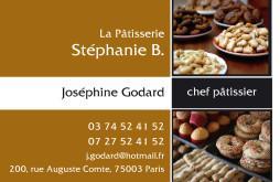 Cartes De Visite Boulangerie Patisserie 1300