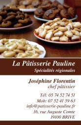 Cartes de visite boulangerie patisserie 1280 - 59