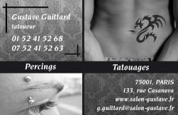 Cartes de visite tatoueur 878 - 29