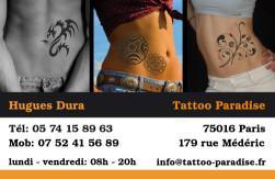 Cartes de visite tatoueur 879 - 24