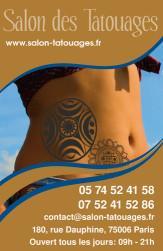 Cartes de visite tatoueur 880 - 35