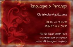 Cartes de visite tatoueur 894 - 85